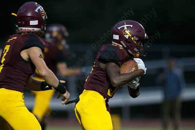 Friday at Riccitelli Field on the campus of Sheehan High School in Wallingford September 28, 2018 | Justin Weekes / Special to the Record-Journal