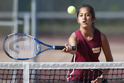 Sheehan's Rishima Patel Thursday at Sheehan High School in Wallingford April 26, 2018 | Justin Weekes / Special to the Record-Journal