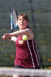 Sheehan's Justine Hoover Thursday at Sheehan High School in Wallingford April 26, 2018 | Justin Weekes / Special to the Record-Journal