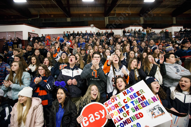 Lyman Hall's WOBMOB Saturday at the Spurrier-Snyder Rink on the campus of Wesleyan University in Middletown January 13, 2018   Justin Weekes / Special to the Record-Journal