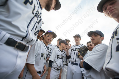 Platt's gets ready to face Maloney Monday at Ceppa Field in Meriden May. 1, 2017 | Justin Weekes / For the Record-Journal