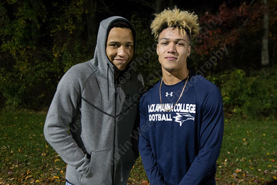Friday at Falcon Field in Meriden October 27, 2017 | Justin Weekes / For the Record-Journal