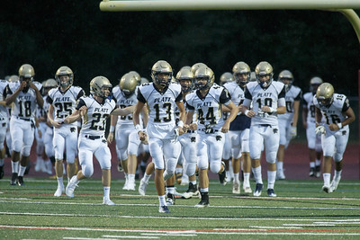 Platt's takes the field to open up their season with Farmington Thursday at Farmington High School in Farmington September 6, 2018 | Justin Weekes / Special to the Record-Journal
