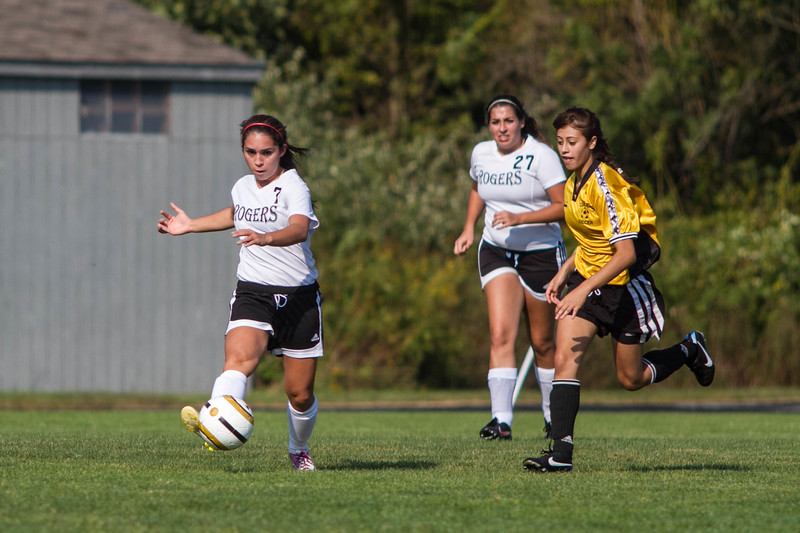 Rogers vs Central Girls Soccer 9-17-12