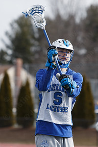 Southington's Matthew Thompson during practice Saturday at Southington High School in Southington March 24, 2018 | Justin Weekes / Special to the Record-Journal