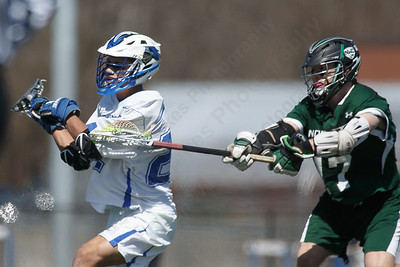 Southington's Angelo Plantamuro gets a shot off Saturday at Southington High School in Southington April 21, 2018 | Justin Weekes / Special to the Record-Journal