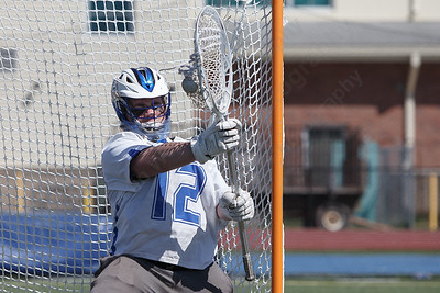 Southington's Garrett Brown warms up Saturday at Southington High School in Southington April 21, 2018   Justin Weekes / Special to the Record-Journal