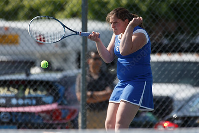 Southington's Chantelle Gimenez Monday at Southington High School in Southington May 21, 2018 | Justin Weekes / Special to the Record-Journal