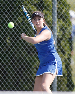 Southington's Madison Beaudoin Monday at Southington High School in Southington May 21, 2018   Justin Weekes / Special to the Record-Journal