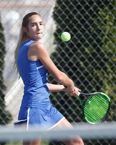 Southington's Coral Tommervik Monday at Southington High School in Southington May 21, 2018   Justin Weekes / Special to the Record-Journal