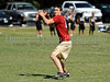7-on-7 - Saginaw quarterback Brannon Riley leads his team in the game against Colleyville Heritage at the Colleyville Heritage 7 on 7 Tournament Saturday, May 30th at Oak Grove Park in Grapevine.