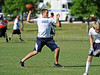 7-on-7 - Flower Mound quarterback Paul Millard leads his team in the game against North Crowley at the Colleyville Heritage 7 on 7 Tournament Saturday, May 30th at Oak Grove Park in Grapevine.