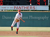 Colleyville Heritage senior infielder Sammy Lett throws to first base in the Bi District Championship series against Southlake Carroll last Friday afternoon.  Carroll defeated Heritage 3-2 to end Heritage's 2009 season.