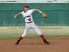 Colleyville Heritage senior Sammy Lett throws to first base in the Bi District Championship series against Southlake Carroll last Friday afternoon.  Carroll defeated Heritage 3-2 to end Heritage's 2009 season.