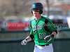 Carroll infielder Patrick McLendon rounds the bases after hitting a two run home run to put Carroll up 2-0 in Carroll's 7-0 win over Flower Mound Marcus, last Friday afternoon at Carroll Senior High School.