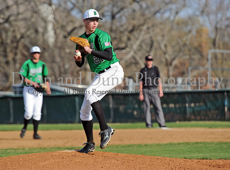 Carroll junior pitcher John Curtiss