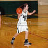 Carroll freshman guard Caitlin Barrett looks for an open teammate in the game Friday night against Hebron.
