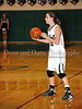 Carroll senior guard Kelli Bennett looks for an open teammate in the game Friday night against Hebron.