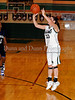 Carroll junior post ML Morrison shoots in the game Friday night against Hebron.