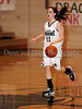 Carroll sophomore guard Monica Pillow starts the Carroll offense in the game Friday night against Hebron.