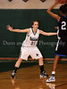 Carroll sophomore guard Monica Pillow on defense in the game Friday night against Hebron.
