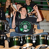David Lerohl  and other members of the Carroll Drum Line were in attendance at the game against Lewisville last Friday night at Carroll Senior High School to support fundraising efforts for Joe Groh, the father of Carroll basketball player Christie Groh.