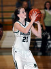 Carroll sophomore guard Monica Pillow shoots a foul shot in the game against Lewisville last Friday night at Carroll Senior High School.