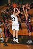 Carroll sophomore guard Makenzie Burnett takes a shot in the game against Lewisville last Friday night at Carroll Senior High School.