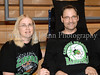 Sue and Joe Groh at the Carroll girls' basketball game against Lewisville last Friday night at Carroll Senior High School.
