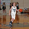 Carroll sophomore guard Monica Pillow brings up the ball in the game against Lewisville last Friday night at Carroll Senior High School.