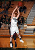 Carroll senior guard Casey Lewis takes a shot in the game against Lewisville last Friday night at Carroll Senior High School.