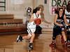 Carroll freshman guard Caitlin Barrett drives to the basket in the game against Marcus last Friday night at Carroll Senior High School.