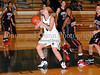 Carroll junior post Christie Groh drives to the basket in the game against Marcus last Friday night at Carroll Senior High School.