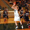 Carroll junior post Christie Groh takes a shot in the game against Marcus last Friday night at Carroll Senior High School.
