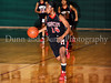 Marcus senior Adriene Easley brings up the ball in the game against Carroll last Friday night at Carroll Senior High School.