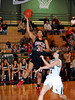 Marcus junior Raven Short takes a shot in the game against Carroll last Friday night at Carroll Senior High School.