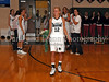 Carroll senior forward Andrea Carr during Senor Night ceremonies at halftime during the game against Marcus last Friday night at Carroll Senior High School.