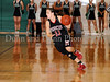 Marcus senior guard Leandra Vallez brings up the ball in the game against Carroll last Friday night at Carroll Senior High School.