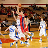 Northwest senior Jeff Hughes takes a shot last Thursday night at Grapevine High School.