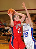 Northwest senior Ryan Russell takes a shot in the game against Grapevine last Thursday night at Grapevine High School.