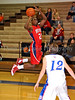 Northwest junior Will Assama takes a shot in the game against Grapevine last Thursday night at Grapevine High School.