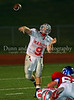 Senior QB Jared Jacobs starts the Marcus comeback late in the 4th quarter in the game against Grapevine on September 7, 2007.
