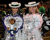2008-10-24 - Seniors Corrine Lorence and Emily Griffin at Carroll's 2008 Homecoming Game last Friday night at Dragon Stadium.
