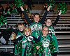 2008-10-24 - Furture Carroll cheerleaders celebrate before Carroll's Homecoming game last Friday night at Dragon Stadium.