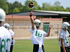 Carroll quarterback David Piland during Monday's two-a-day practice.