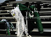**A mum and letter jacket await their owner prior to Carroll's 2009 Homecoming game against Coppell last Friday night at Dragon Stadium.