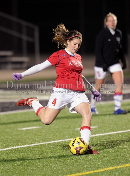 Grapevine player #4  ...  during Monday night's scrimmage against Grapevine at Dragon Stadium.