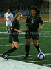 Carroll sophomore midfielder Monica Alvarado (#6) passes the ball to senior forward Kelsey Allison (#3).  Allison scored the game winning goal in Carroll's 2-1 victory over Grapevine.