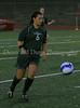 Carroll sophomore midfielder Monica Alvarado (#6) brings the ball up the field.