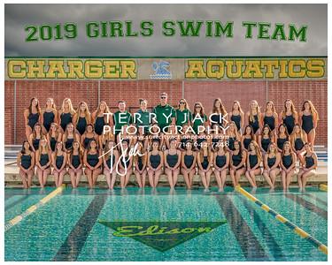edison girls swim bordered